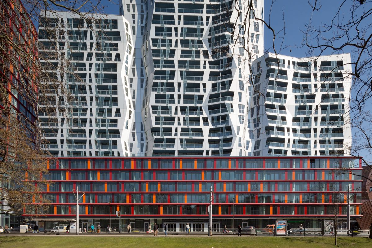 Calypso appartementencomplex in rotterdam de architect for Nieuwbouw rotterdam huur