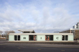 Clubhuis RIC gerenoveerd door Arons en Gelauff Architecten