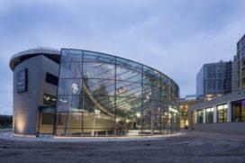 Glazen Entreegebouw Van Gogh Museum