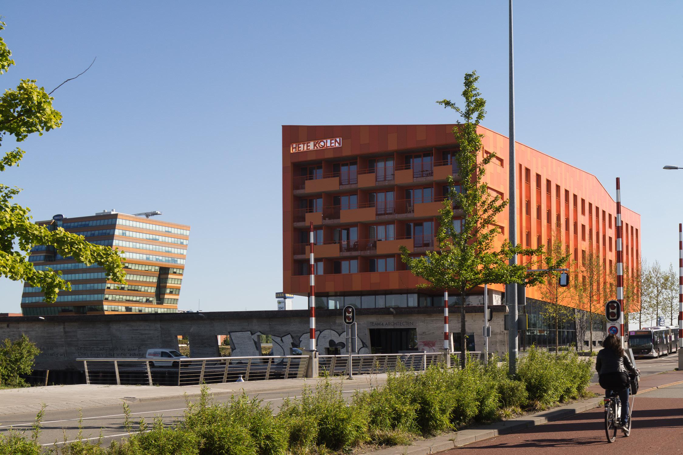 <p>Team 4 architecten vertrekt uit Hete Kolen en vestigt zich tot medio 2019 in Het Kwadraat</p>