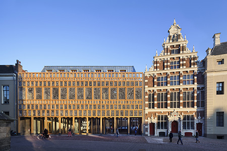 <p>Stadhuiskwartier Deventer wint Abe Bonnema Architectuurprijs 2017</p>