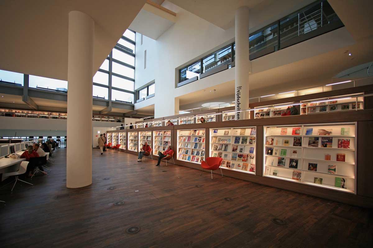 Openbare bibliotheek in amsterdam door jo coenen co for Bibliotheek amsterdam