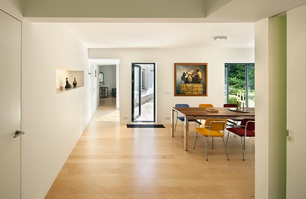 Plattegrond Slaapkamer Renovatie : Renovatie villa huis ter heide de architect