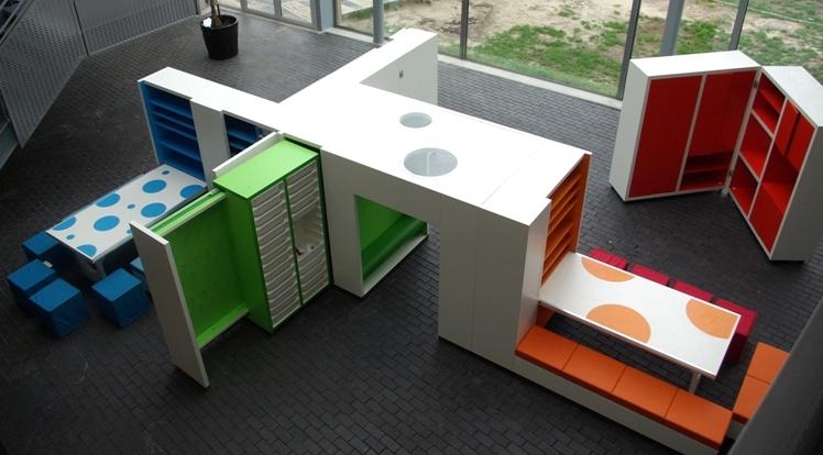 Uitklapbaar BSO meubel – No Label - De Architect