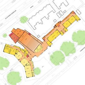 Vorstelijk Complex in Utrecht door Op ten noort blijdenstein
