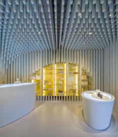 Zens showroom in Amsterdam door SchilderScholte