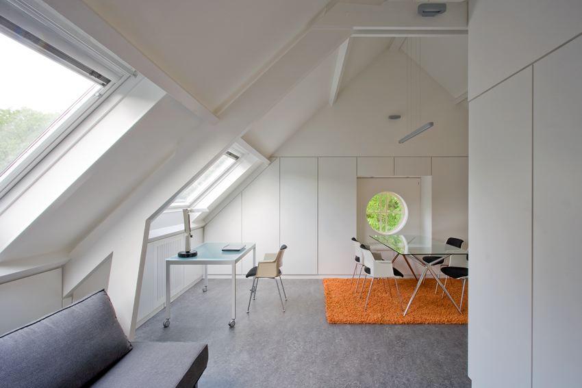 Appartement Op Zolderverdieping : Zolderappartement in utrecht de architect