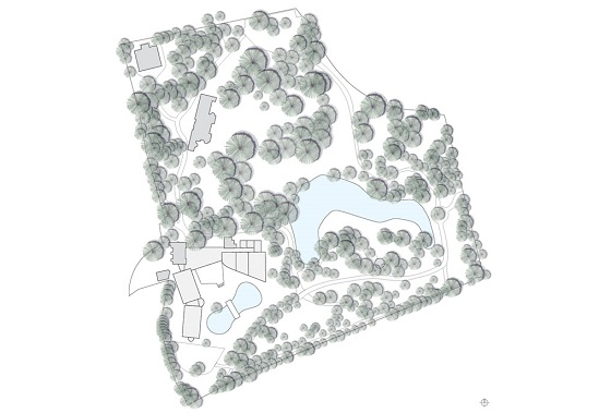 Landgoed Huize Bergen krijgt nieuwbouw en uitbreiding van Jeanne Dekkers