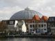 Haarlem koepelgevangenis vanop donkere spaarne 80x60