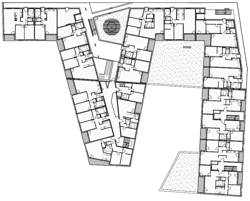 sakura social housing vienna - nerma linsberger_plan1