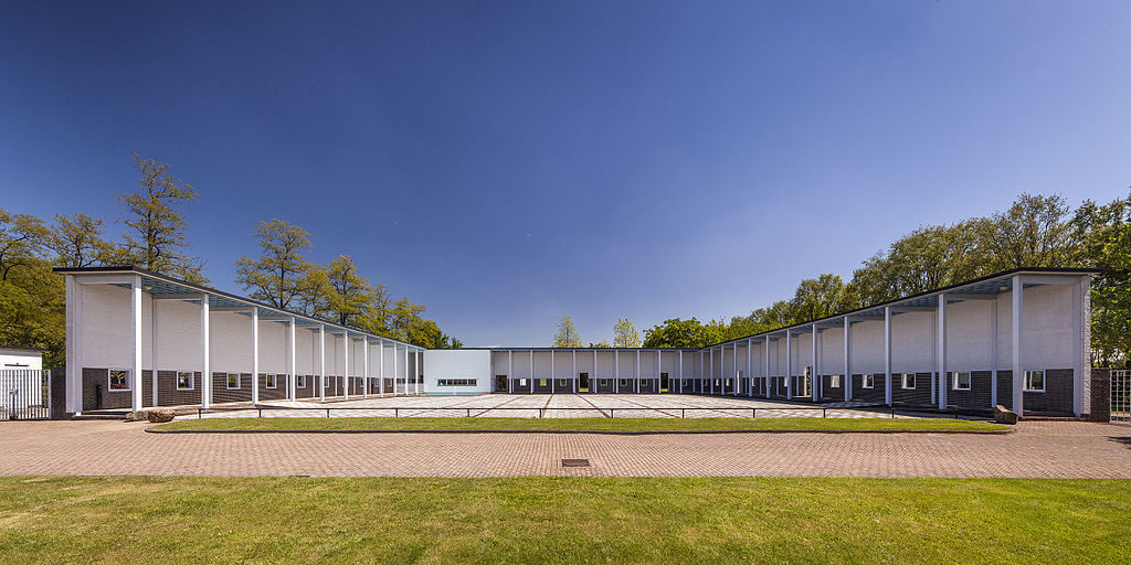 Begraafplaats Zuiderhof in Hilversum door Willem Dudok