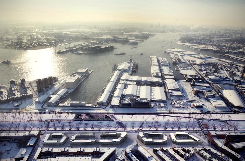 Woningbouw Hudsons Rotterdam