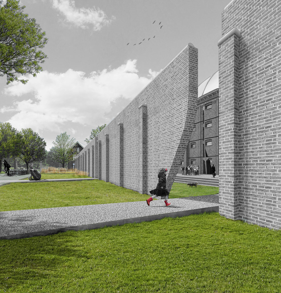 Afstudeerproject Koepelgevangenis Haarlem door Annette Bos
