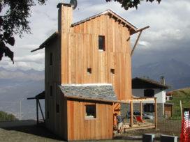 Blog – Duurzaam torenhuisje in de sneeuw