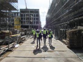Kijkje op de bouw Leidsche Rijn Centrum