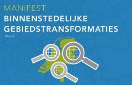 Manifest Binnenstedelijke Gebiedstransformaties aangeboden