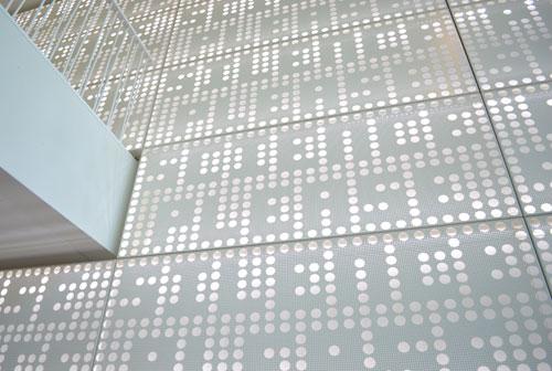 Silence Please Science Please akoestische muur door Martijn Sandberg