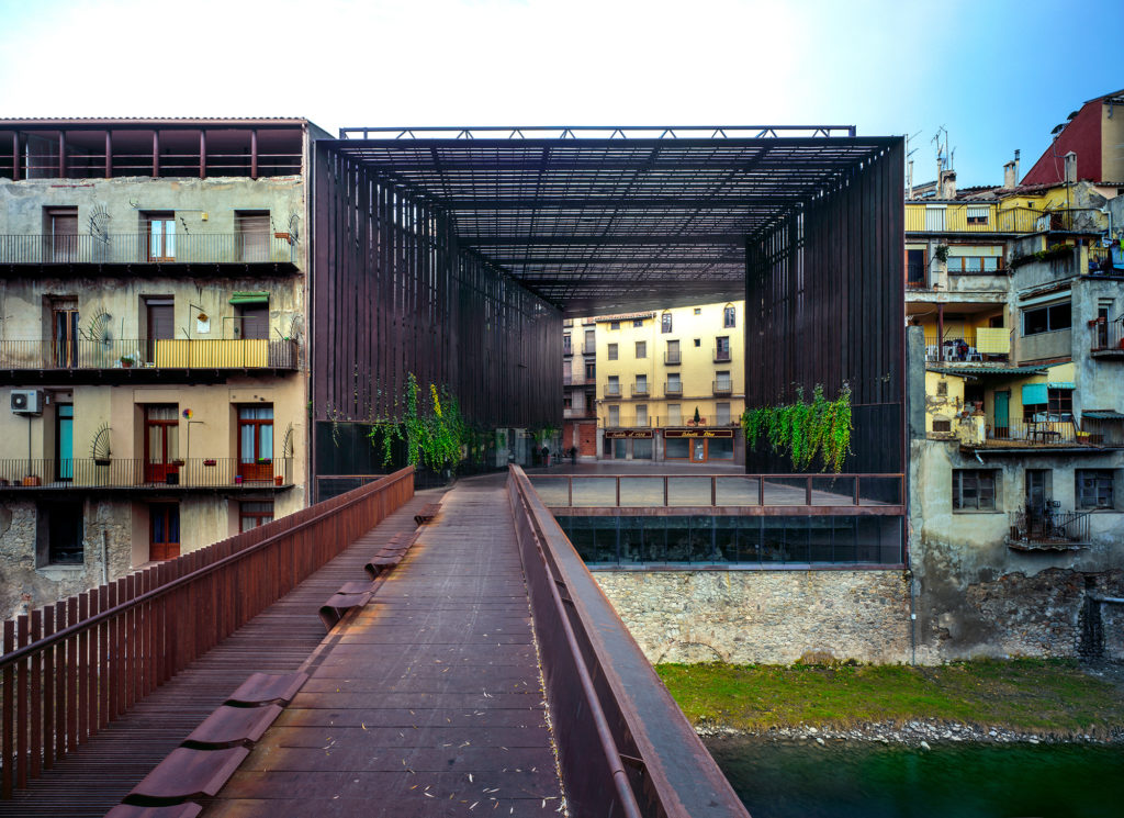 La Lira Theater Public Open Space, 2011, Ripoll, Girona, Spain In collaboration with J. Puigcorbé