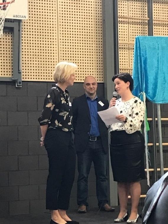 Annette Wijnen, Dave Huntjens en Anouk Willems