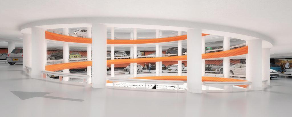 Parkeergarage Lammermarkt Leiden door JHK Architecten