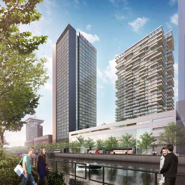 Congreshotel en Woontoren OverhoeksAmsterdam door Team V Architectuur