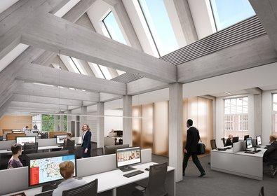 Plannen voor nieuw stadhus Leiden