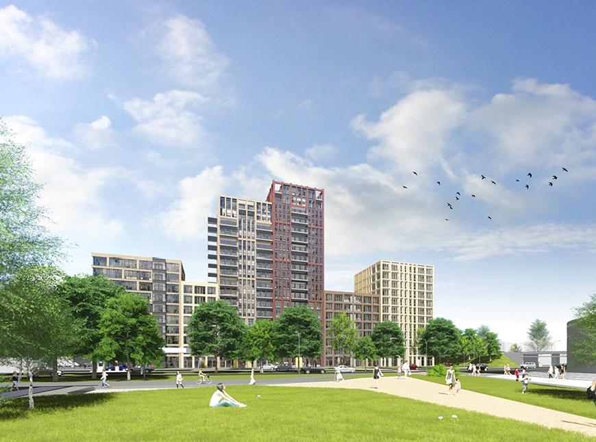 Van Egmond Architecten - Woningbouw Lammenschans