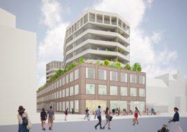 Plan voor Rijnsburgerblok bij station Leiden klaar