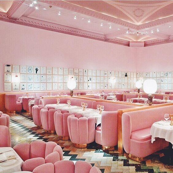 Veelbesproken interieur van het Sketchrestaurant in Londen