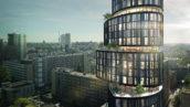 Kraaijvanger Architects presenteert circulaire woontoren 360°
