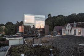 Blog – Spiegeltje, Spiegeltje op het dak