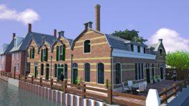 Monumentale limonadefabriek omgebouwd tot woningen