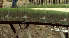 TU Delft test met succes revolutionaire brug van glas