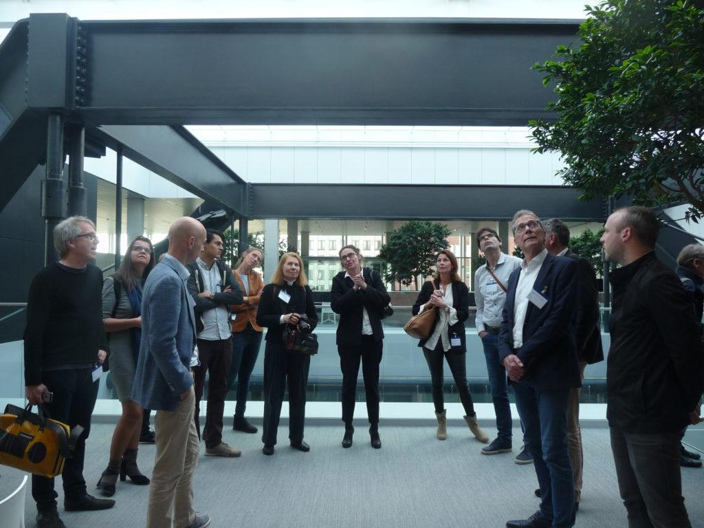 Projectbezoek Rijnstraat 8 VROM Den Haag OMA Ellen van Loon