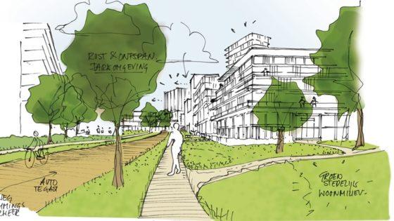 Zoetermeer krijgt 'bruisende stadswijk' met hoge woontorens