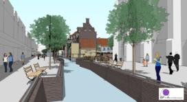 Het Broerenhof herstelt deel historisch Zwolle