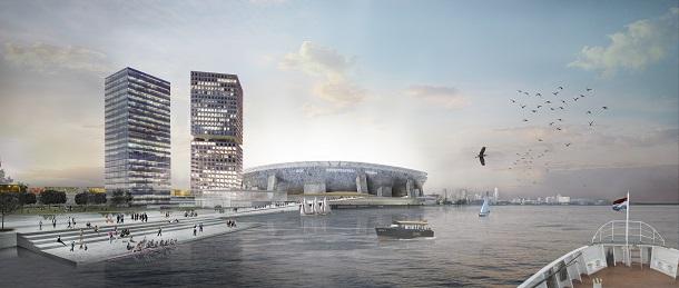 Feyenoord City door OMA