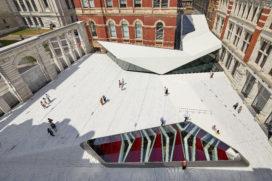 V&A uitbreiding – Amanda Levete Architects