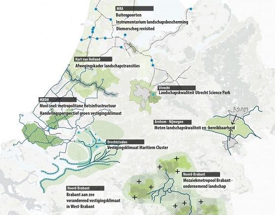Pilotprojecten Landschapstriennale Landgoed Kleine Vennep (boerderij) door Kees van der Veer