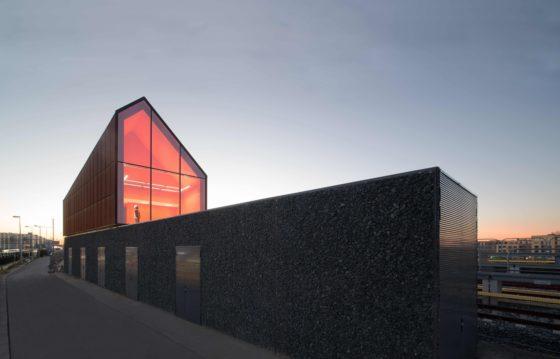ARC17 Architectuur Award-Voorzieningengebouw Noord-Zuidlijn Amsterdam. Foto's Jeroen Musch