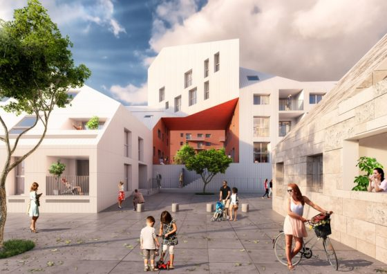 MVRDV_Garonne_Mix_used wooncomplex