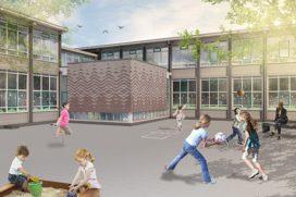 Start duurzame renovatie en uitbreiding OBS De Plataan in Pernis