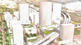 Plan voor woontorens Sloterdijk-Centrum Amsterdam