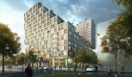 Studentenwoningen Utrecht krijgen opvallende vorm