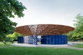 Video: Serpentine Pavilion 2017 door Diébédo Francis Kéré