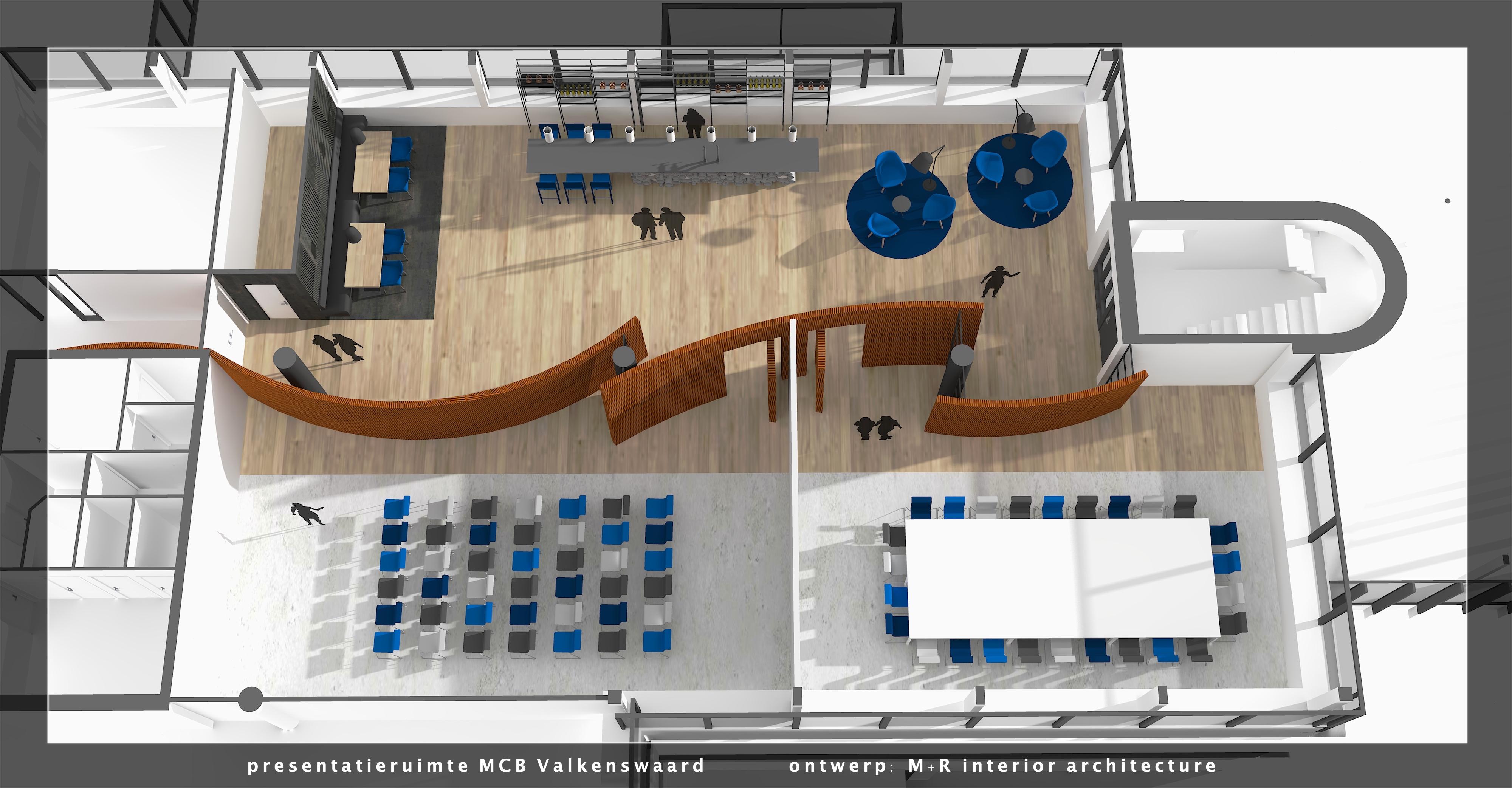 <p>impressie 3D MCB presentatieruimte by M+R</p>