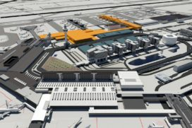 Architecten presenteren ontwerp Schiphol-terminal
