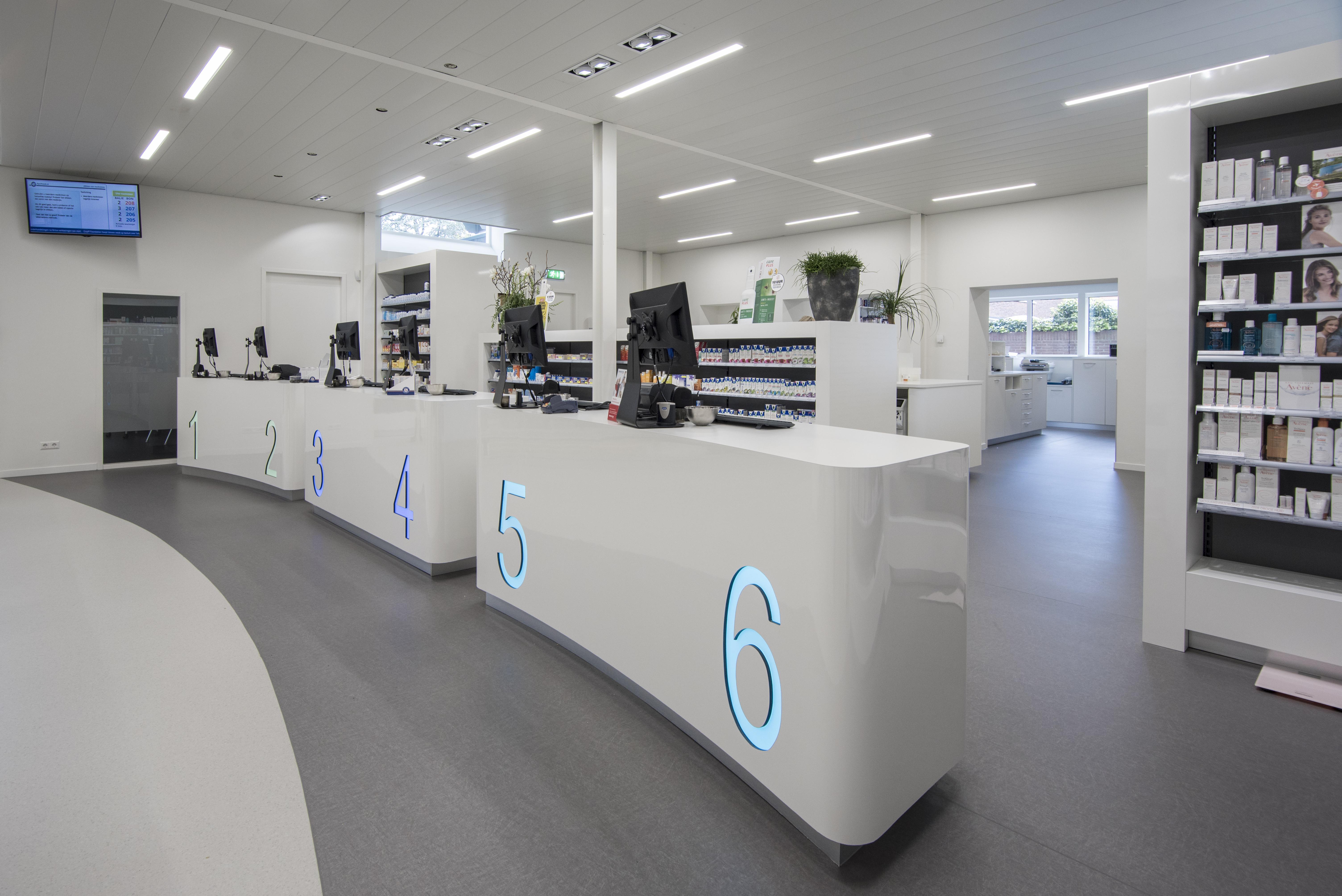 <p>De Apotheek in het gezondheidscentrum De Kandelaar – HET architectenbureau</p>