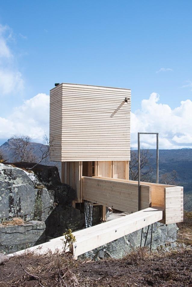 Jeroen Apers - Eldmolla Sauna Noorwegen