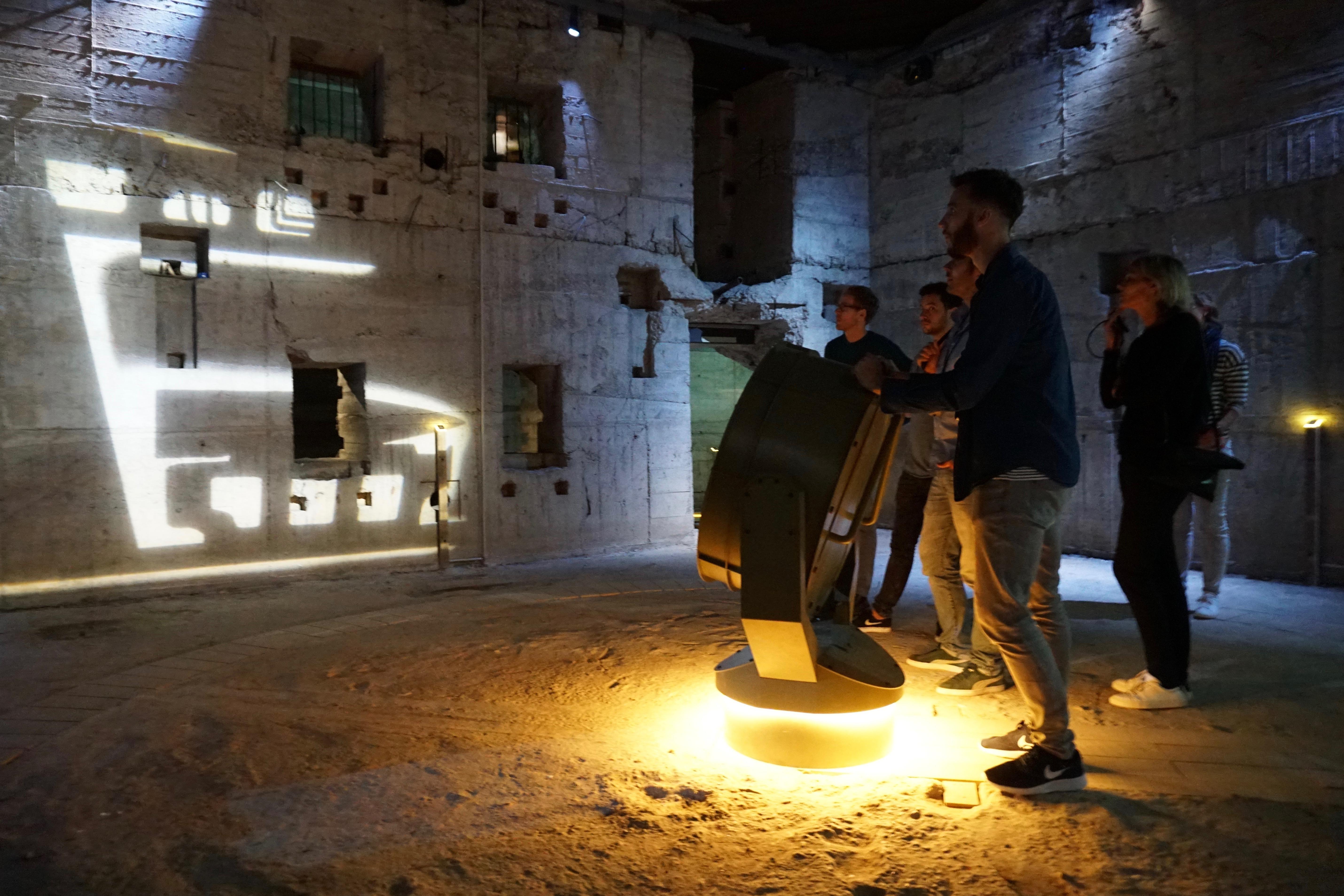 Museum Tirpitz Denemarken BIG en Tinker Imagineers. Bunker. Fotograaf ErikBär